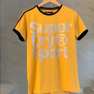 Men's Superdry Orange label T-shirt